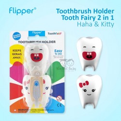 Flipper - Toothbrush Holder Tooth Fairy 2 in 1 - Haha & Kitty
