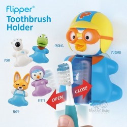 Flipper - Toothbrush Holder - Crong