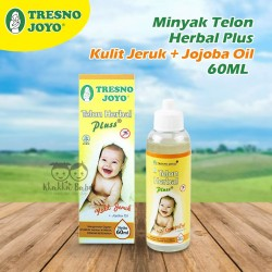 Tresno Joyo - Minyak Telon Herbal Plus Kulit Jeruk + Jojoba Oil 60ML