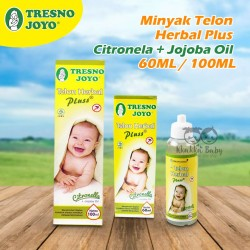 Tresno Joyo - Minyak Telon Herbal Plus Citronella + Jojoba Oil 60ML