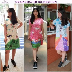 Onions - Daster Tulip Edition (3pcs/Set)