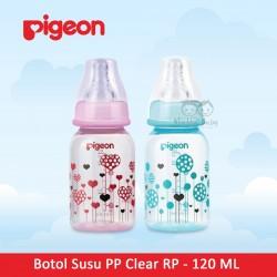 Pigeon - Botol Susu PP Clear RP - 120 ML