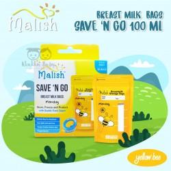 Malish - Breast Milk Bags Save n Go 100 ml