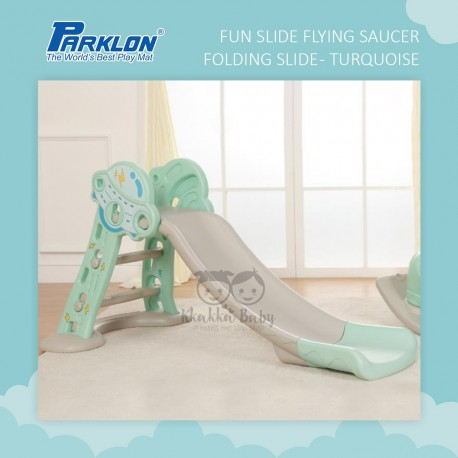 Parklon - Fun Slide - Flying Saucer Folding Slide (Turquoise)