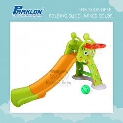 Parklon - Fun Slide -  Deer Folding Slide (Mixed Color)