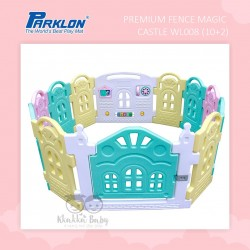 Parklon -  Premium Fence Magic Castle WL008 (10+2)