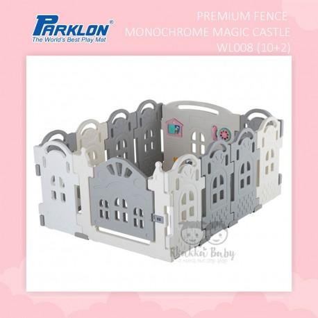 Parklon - Premium Fence Monochrome Magic Castle WL008 (10+2)