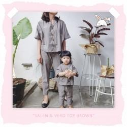 Veyl Women - Valen Top Brown