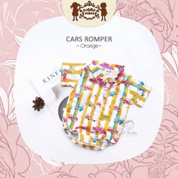 Petite Mimi - Cars Romper - Orange