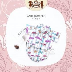 Petite Mimi - Cars Romper - Gray