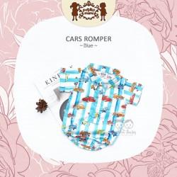Petite Mimi - Cars Romper - Blue