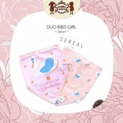 Petite Mimi - Duo Bibs Girl - Swan
