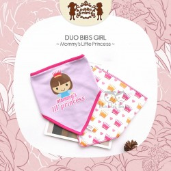 Petite Mimi - Duo Bibs Girl - Mommy's Little Princess