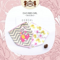 Petite Mimi - Duo Bibs Girl - Elle & Bird