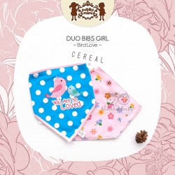 Petite Mimi - Duo Bibs Girl - Bird Love