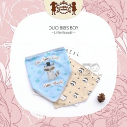 Petite Mimi - Duo Bibs Boy - Little Bandit
