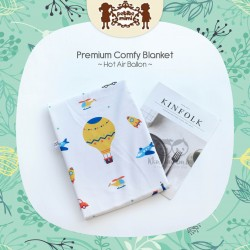 Petite Mimi - Premium Comfy Blanket - Hot Air Balloon