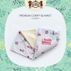 Petite Mimi - Premium Comfy Blanket - London