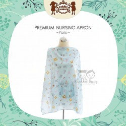 Petite Mimi - Premium Nursing Apron - Paris