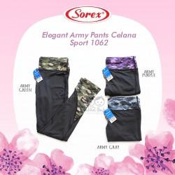 Sorex - Elegant Army Pants Celana Sport 1062