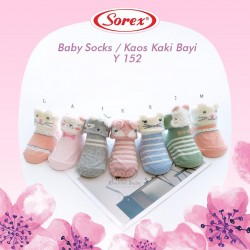 Sorex - Baby Socks / Kaos Kaki Bayi Y 152 - E