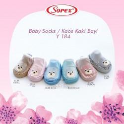 Sorex - Baby Socks / Kaos Kaki Bayi Y 184 - Hello Pink