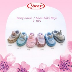 Sorex - Baby Socks / Kaos Kaki Bayi Y 185 - Khaki