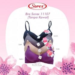 Sorex - Bra Sorex 11107 (Tanpa Kawat) - Black