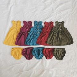 Bohobaby - Sleeveless Dress 3Y, 4Y (Without Bloomer) - Black