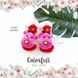 Colorfull Doll Sock - Flower Bernard