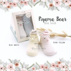 Piyama Bear Box Sock
