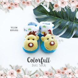 Colorfull Doll Sock - Yellow Bernard