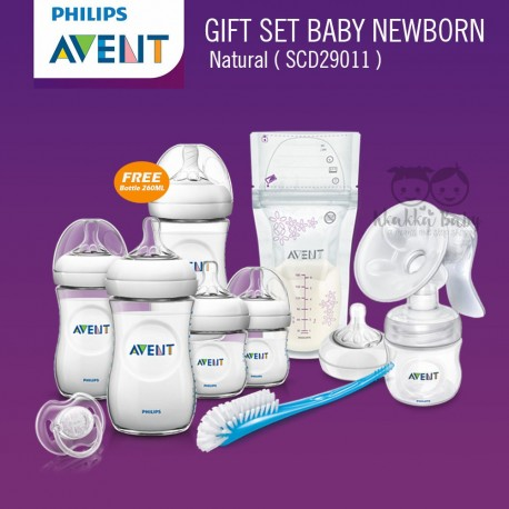 Avent - Gift Set Baby New Born Natural [SCD29011]