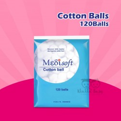 Medisoft - Cotton Balls - 120Balls