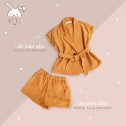 Veyl Kids - Lury Pants Yellow