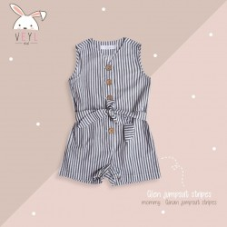 Veyl Women - Ginan Jumpsuit Stripes
