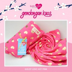 Baby Love Geos - Goldy Love Hot Pink