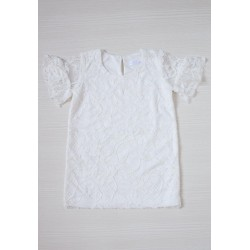 Veyl Kids - Mazel Dress - Off White