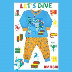 Bonbinzoo - Piyama Shark Let's Dive