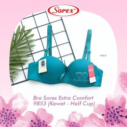 Sorex - Bra Sorex Extra Comfort 9853 (Kawat - Half Cup) - Tosca