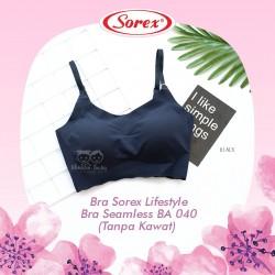 Sorex - Bra Sorex Lifestyle Bra Seamless BA 040 (Tanpa Kawat)