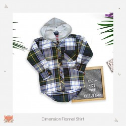 Little Jack - Dimension Flannel Shirt