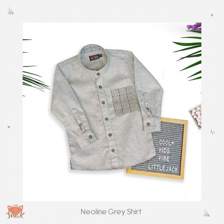 Little Jack - Neoline Grey Shirt