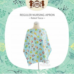 Petite Mimi - Reguler Nursing Apron - Robot Tosca