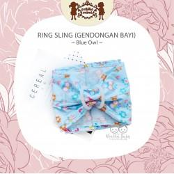 Petite Mimi - Ring Sling - Blue Owl