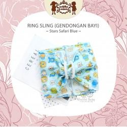 Petite Mimi - Ring Sling - Stars Safari Blue