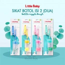 Little Baby - Sikat Botol isi 2(Dua)