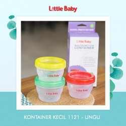 Little Baby - Kontainer Kecil / Multifunction Container 120ML 1121 - UNGU