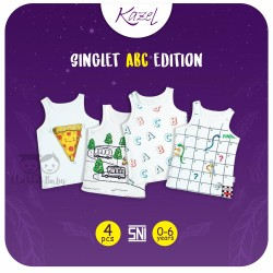 Kazel - Singlet (4 pcs/pack) -  ABC Edition