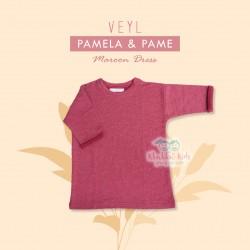 Veyl Kids - Pame Dress Maroon